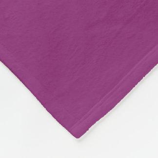 Purple Fusion Fleece Blanket