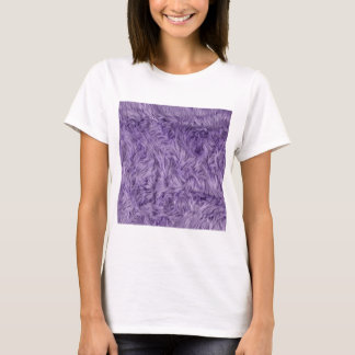PURPLE FUZZY FUR T-Shirt