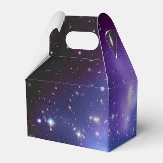 Purple Galaxy Cluster Favour Box