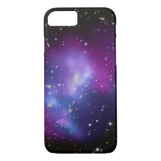 Purple Galaxy Cluster Space Photo iPhone 7 Case