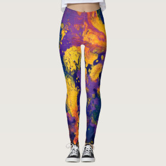 Purple Galaxy II Leggings