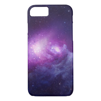 Purple Galaxy iPhone 7 Case