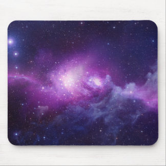 PURPLE GALAXY MOUSE PAD