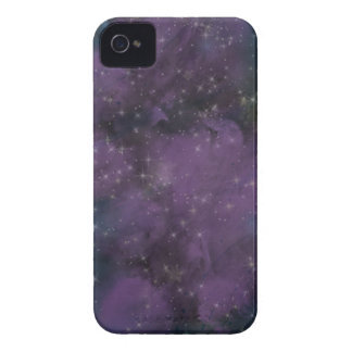 Purple Galaxy Nebula iPhone 4 Cover
