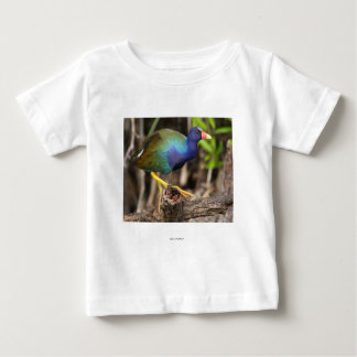 Purple Gallinule Baby T-Shirt
