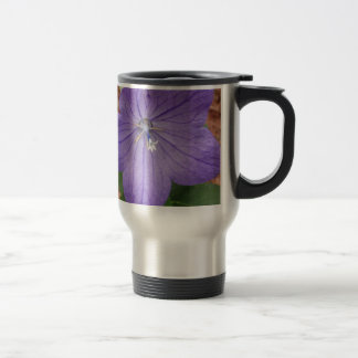 Purple garden flower mugs