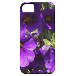 Purple Garden Flowers Case For The iPhone 5