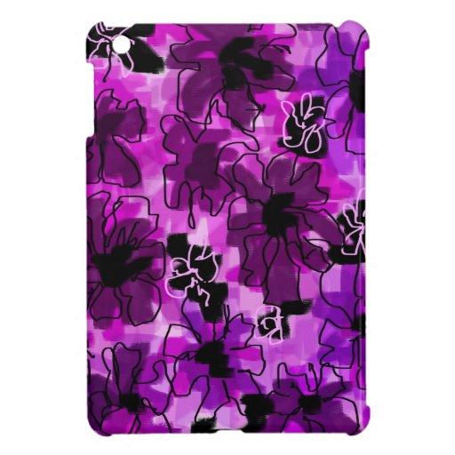 purple garden case for the iPad mini