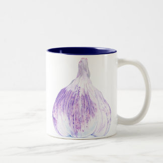 Purple Garlic Mug