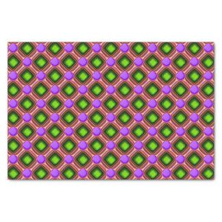 Purple Gem Pattern Tissue Paper