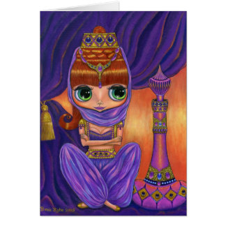 Purple Genie Card
