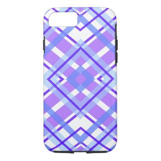 Purple Geometric Kaleidoscope pattern iPhone 7 Case