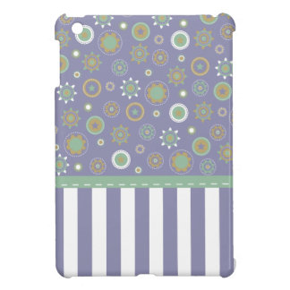 Purple Geometric Patterned Case iPad Mini Covers