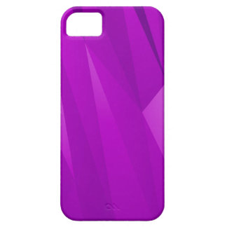 Purple Geometric Shapes iPhone 5 Cover