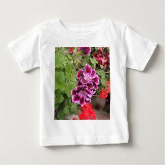 Purple Geraniums Baby T-Shirt