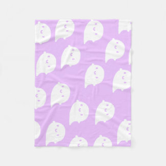 Purple Ghost Blanket