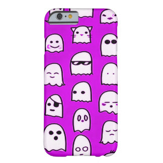 Purple Ghost Party Airbrush Art iPhone Barely There iPhone 6 Case