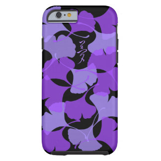 Purple Ginkgo leaves iPhone6 case