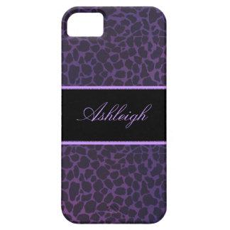 Purple Giraffe Casemate ID iPhone 5s Cases