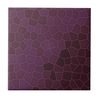 Purple Giraffe Mosaic Tile