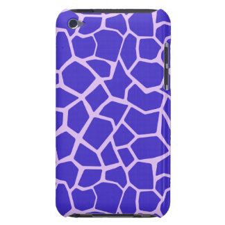 Purple Giraffe Print iPod Touch Case-Mate Case