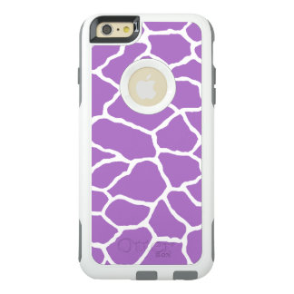 Purple Giraffe Print OtterBox iPhone 6/6s Plus OtterBox iPhone 6/6s Plus Case