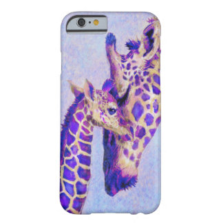 purple giraffes iPhone 6 case Barely There iPhone 6 Case