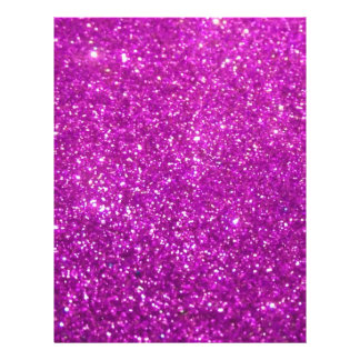 Purple Glamour Sparkley 21.5 Cm X 28 Cm Flyer