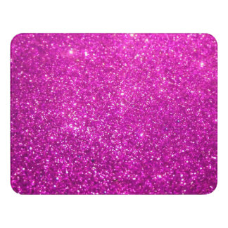 Purple Glamour Sparkley Door Sign