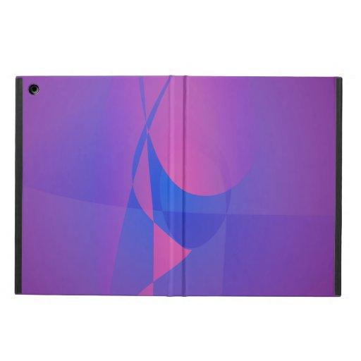 Purple Glass iPad Air Cases