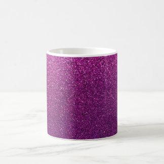Purple Glitter Background Glittery Sparkle Coffee Mug
