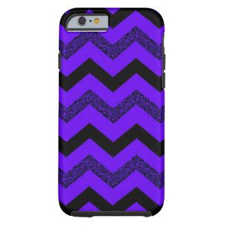 Purple Glitter Chevron iPhone 6/6s Case