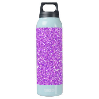 Purple Glitter Luxury Diamond Insulated Water Bottle