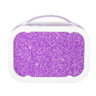 Purple Glitter Luxury Diamond Lunchboxes
