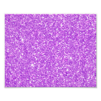 Purple Glitter Luxury Diamond Photo Print
