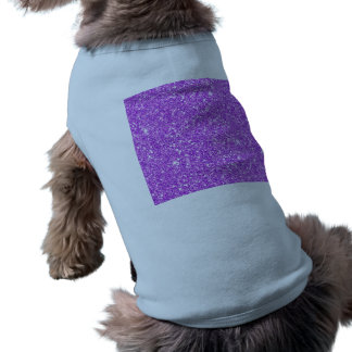 Purple Glitter Luxury Diamond Shine Shirt