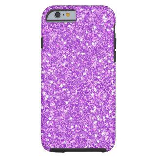 Purple Glitter Luxury Diamond Shine Tough iPhone 6 Case