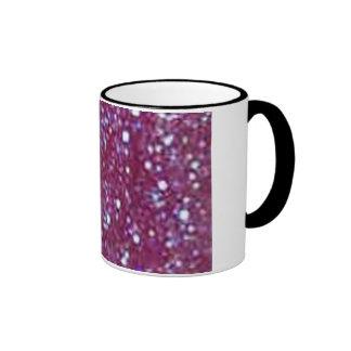 Purple Glitter Mug