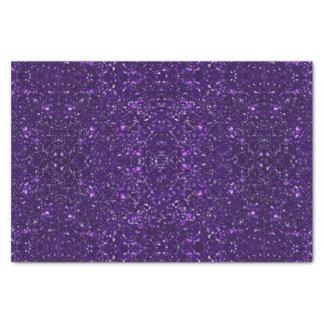Purple Glitter Tissue Paper