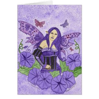 Purple Glory Card