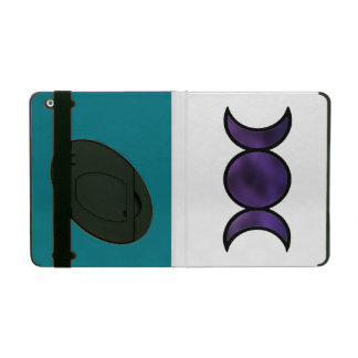 Purple Goddess iPad case, custom color & kickstand iPad Cover