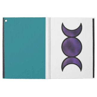 Purple Goddess iPad Pro case with custom color