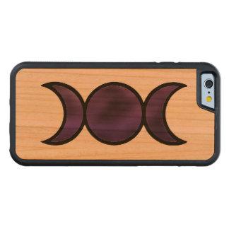 Purple Goddess iPhone 6/6s Wood Case