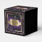 Purple & Gold Metallic - Birthday  | DIY Text Favour Box