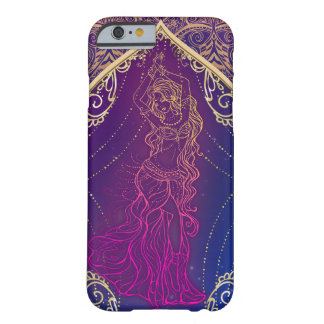 Purple & Gold Moroccan Arabian Belly Dancing Glam Barely There iPhone 6 Case