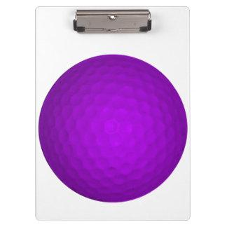 Purple Golfball Clipboards