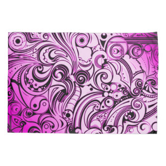 Purple Graffiti Airbrush Art Pillowcase