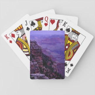Purple Grand Canyon Playing Cards