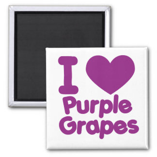 Purple Grapes Fridge Magnets