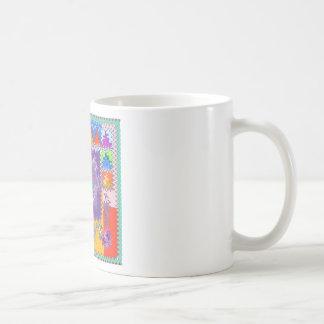 Purple Graphics - keep U warm and excited in life Coffee Mugs